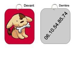 Médaille pour chien à personnaliser