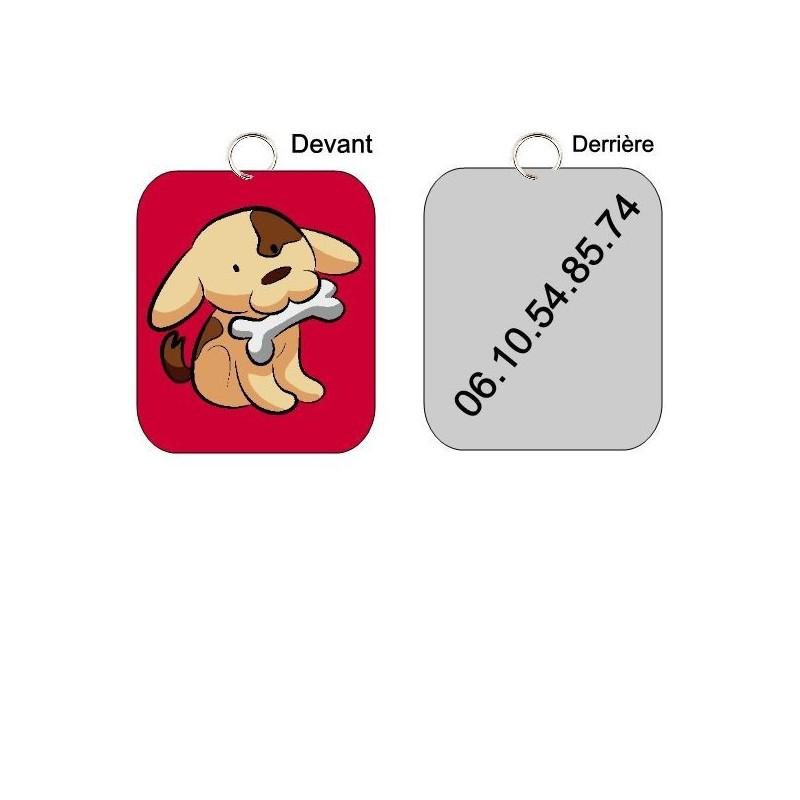 Médaille chien à personnaliser