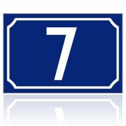 Numéro de maison personnalisé 15 x 10