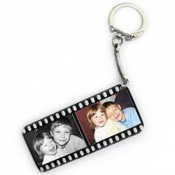 Porte clé personnalisé deux photos