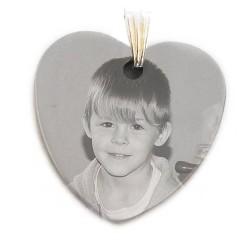 Gravure pendentif coeur