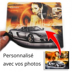 Tapis de souris rectangle personnalisable