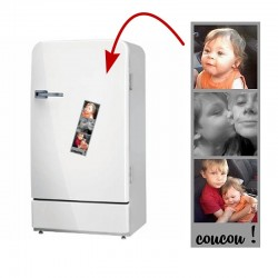 Magnet personnalisé trois photos