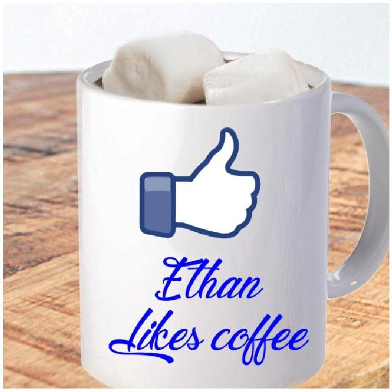 Mug like coffee à personnaliser