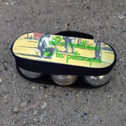 Sacoche personnalisable pour boules de pétanque