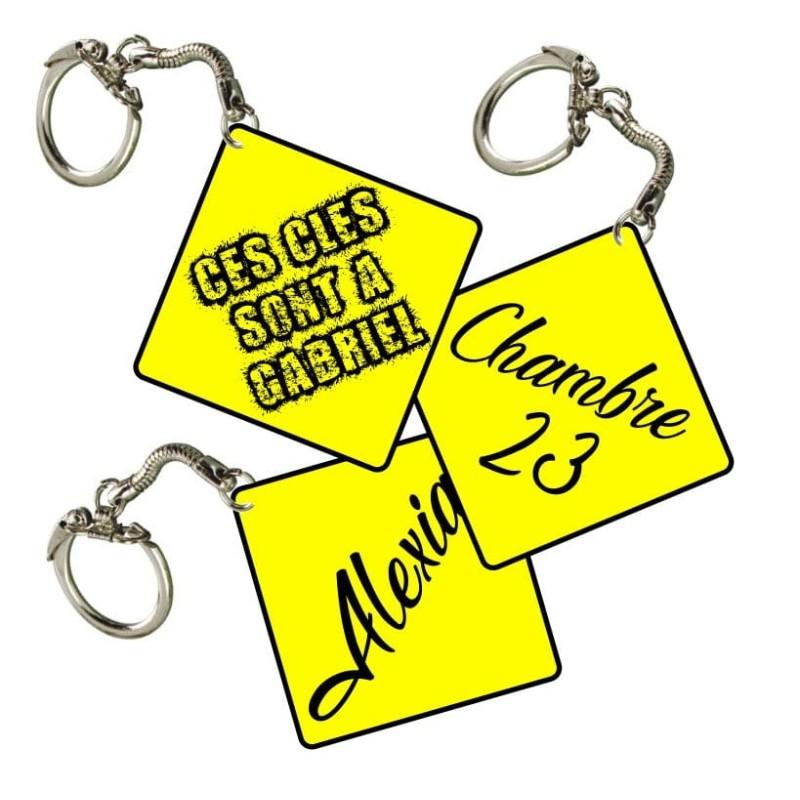 Porte clés à personnaliser avec votre texte ou prénoms 00e33e686ff