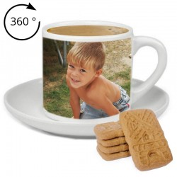 Tasse expresso avec photo 360°