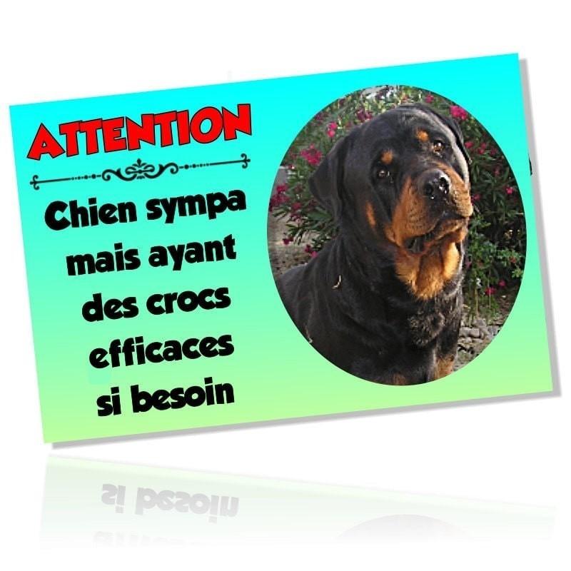 Plaque chien personnalisé