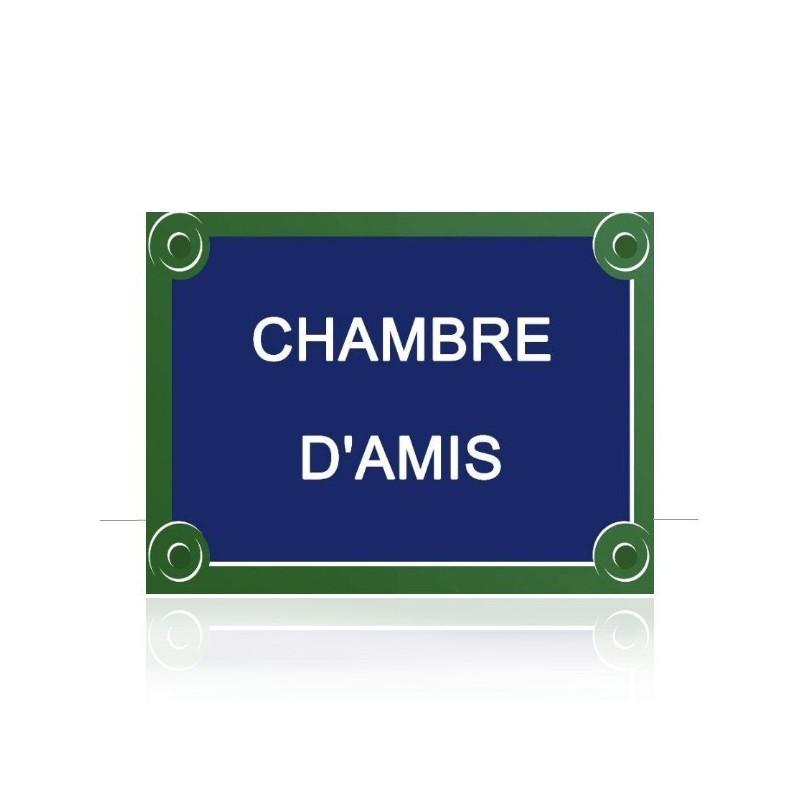 Plaque de rue parisienne personnalisée