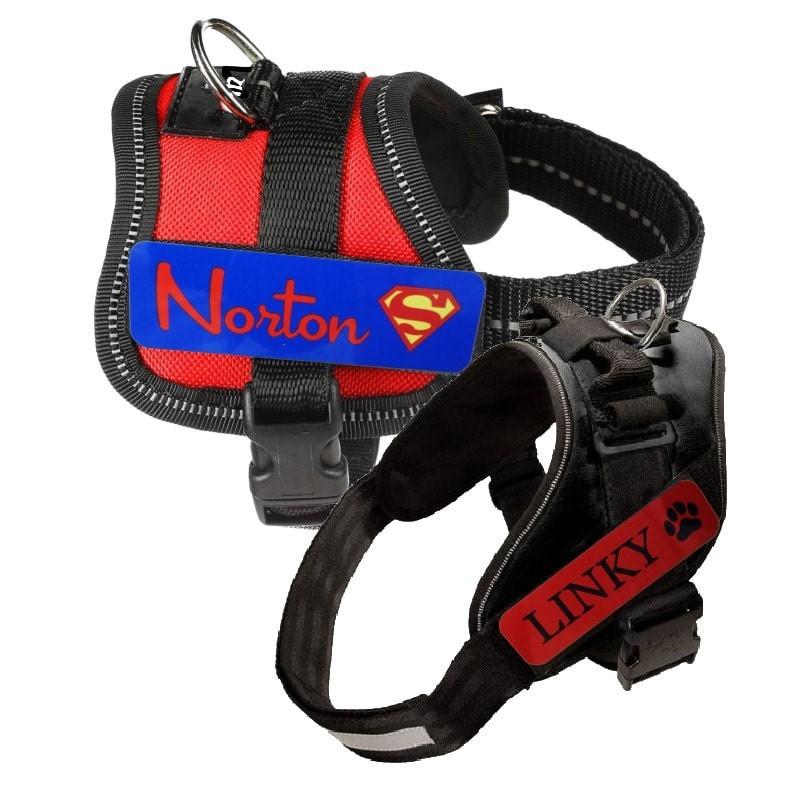 Velcro pour harnais chien