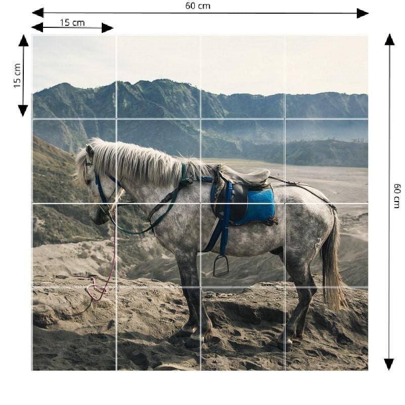 Photo sur mosaïque en aluminium