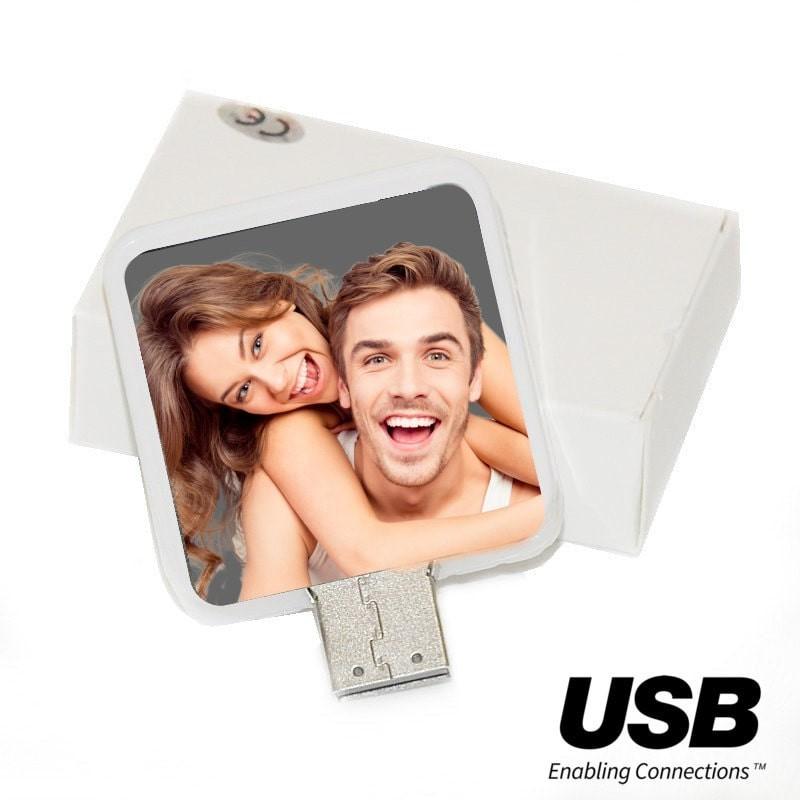 Clé USB personnalisée avec photo