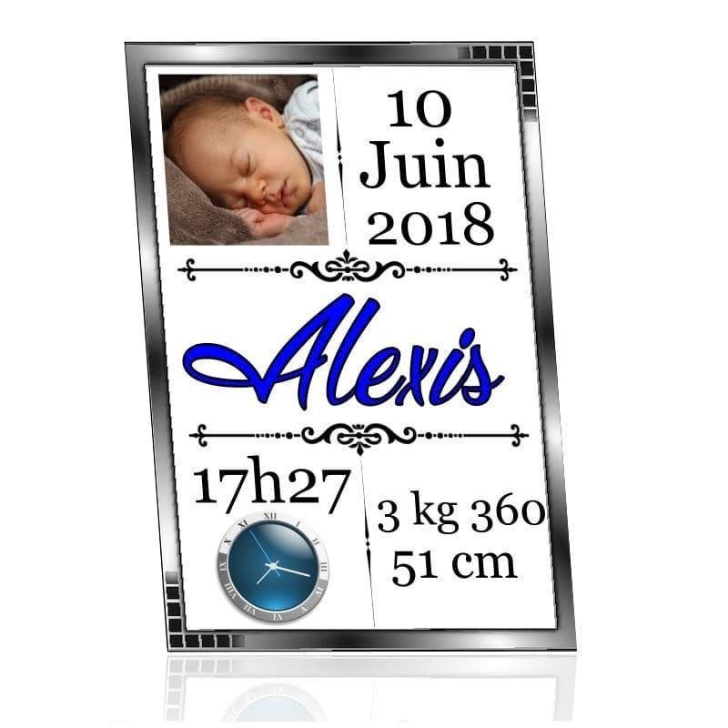 Tableau cadre naissance personnalisé