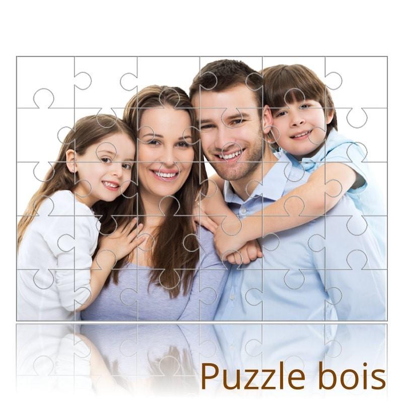 Puzzle personnalisé en bois