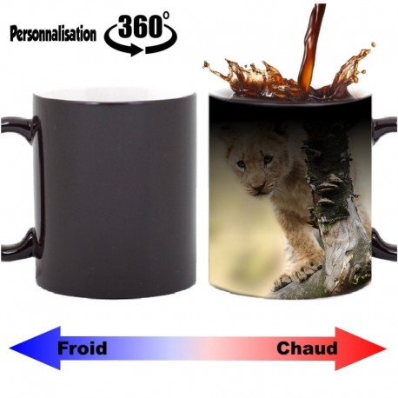 Mug magique personnalisable