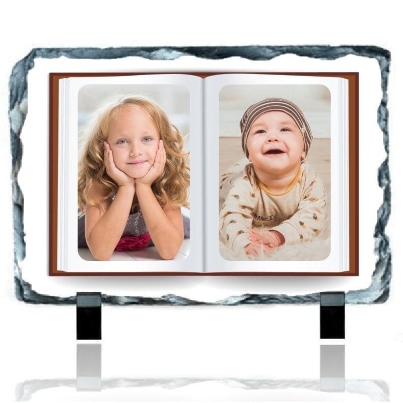 Ardoise personnalisée photo thème livre